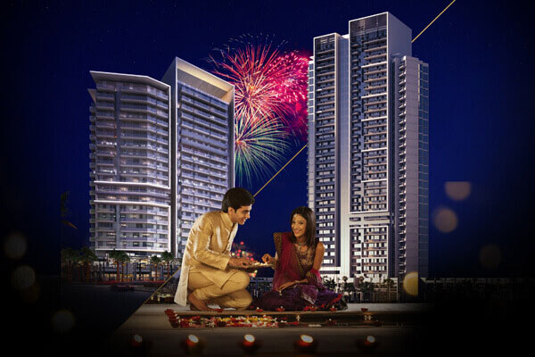 Diwali Offer by DAMAC on apartments in DAMAC Hills
