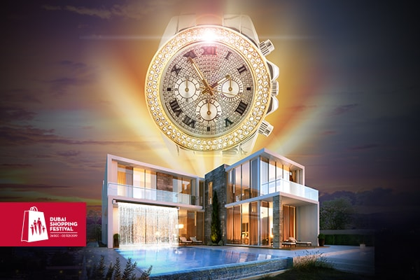 Invest in a DAMAC home this DSF and get a luxury watch