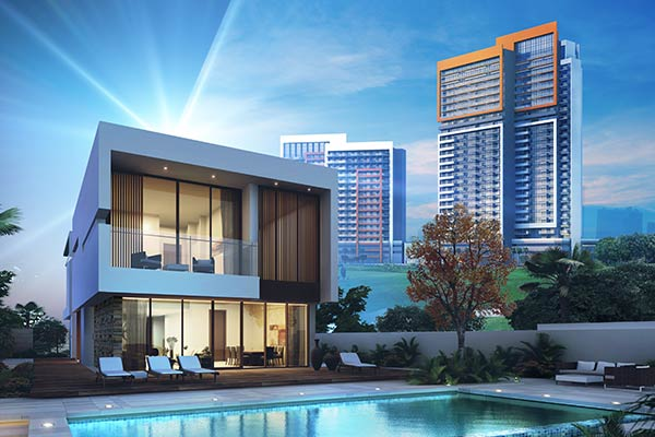 Free apartment with every ready villa