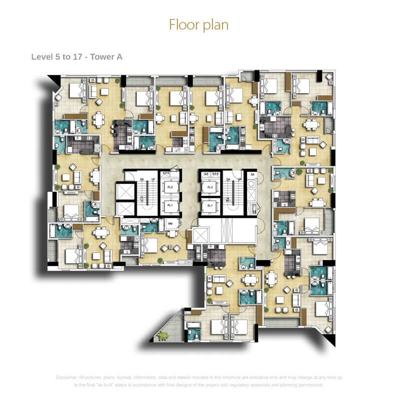 Bedroom Floor 1 Hour