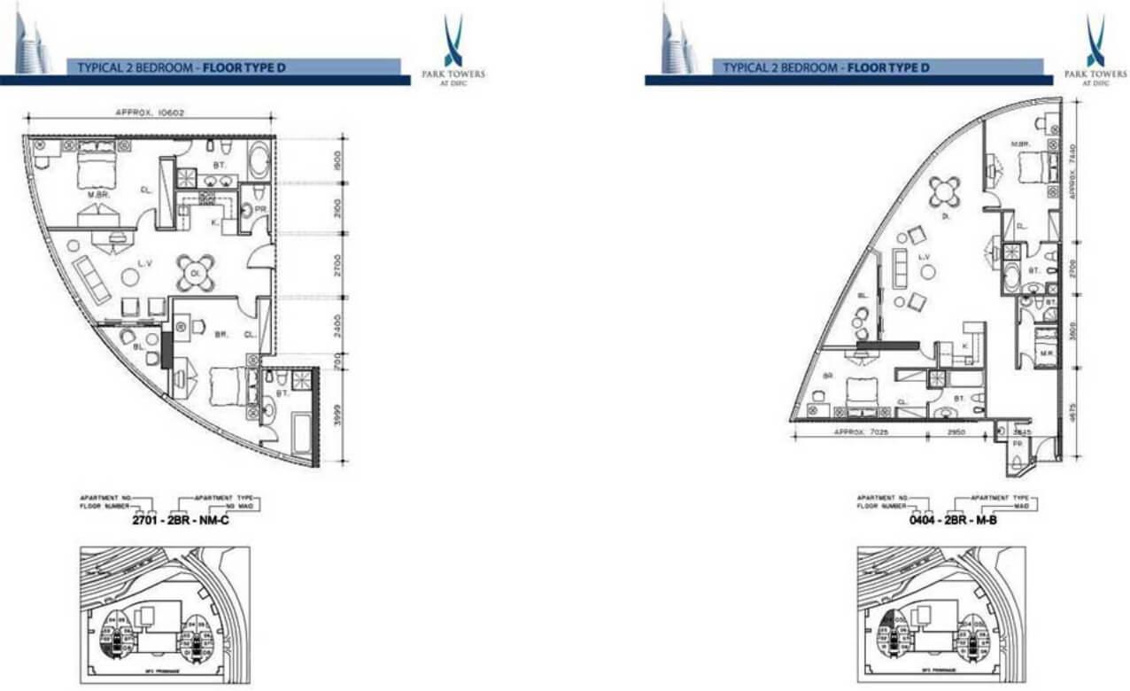 Park Towers Luxury Apartments In Dubai Damac Properties