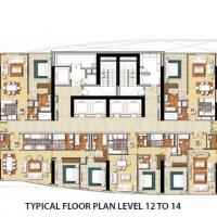 داماك إسكلوسيفا by DAMAC - Floor Plan