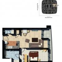 DAMAC Maison Mall Street by DAMAC - Floor Plan