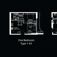 DAMAC Tower с интерьерами от Versace Home by DAMAC - Floor Plan