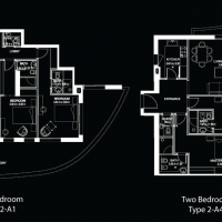 DAMAC Tower with interiors by Versace Home by DAMAC - Floor Plan
