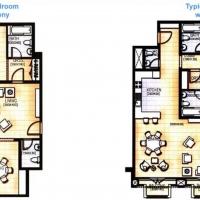 Emirates Gardens 2 by DAMAC - Floor Plan