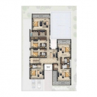 "فِلل ""إيتوري 971 بلمسات بوجاتي″ في أكويا أكسجين by DAMAC - Floor Plan"