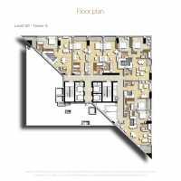 إكزكتيف باي by DAMAC - Floor Plan