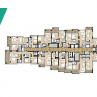 غولف بروميناد في ترمب إنترناشيونال غولف كلوب دبي by DAMAC - Floor Plan