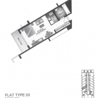 لاغو فيستا by DAMAC - Floor Plan