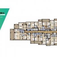 Spacious hotel apartments by DAMAC - Floor Plan