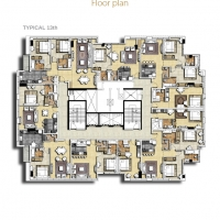 بارك سنترال by DAMAC - Floor Plan