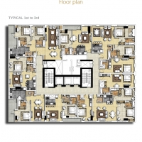 بارك سنترال by DAMAC - Floor Plan