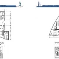 بارك تاورز by DAMAC - Floor Plan