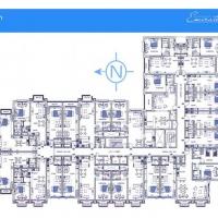 The Piazza by DAMAC - Floor Plan