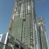 Waterfront hotel apartments by DAMAC Properties Project update