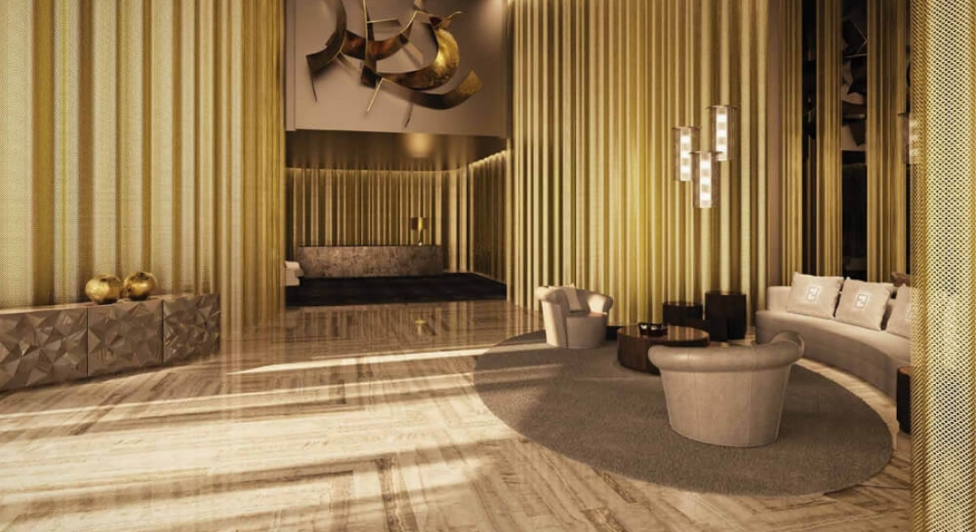 Damac residenze with interiors by fendi casa damac for Design casa on line