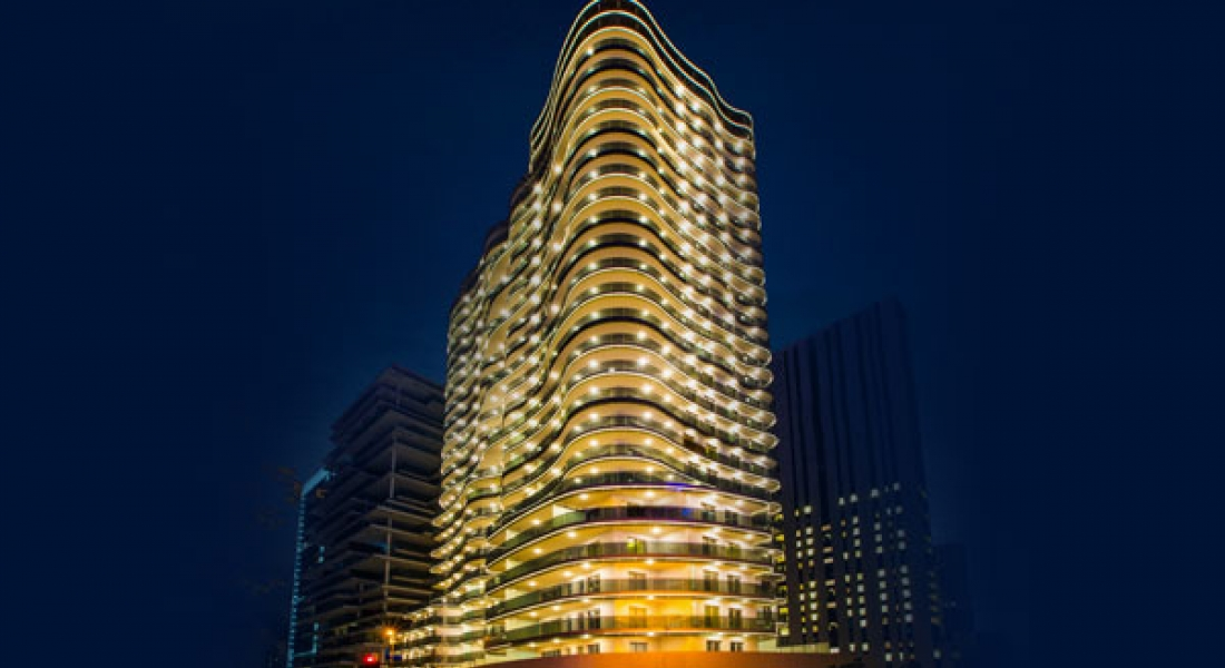 DAMAC Tower with interiors by Versace Home in Beirut