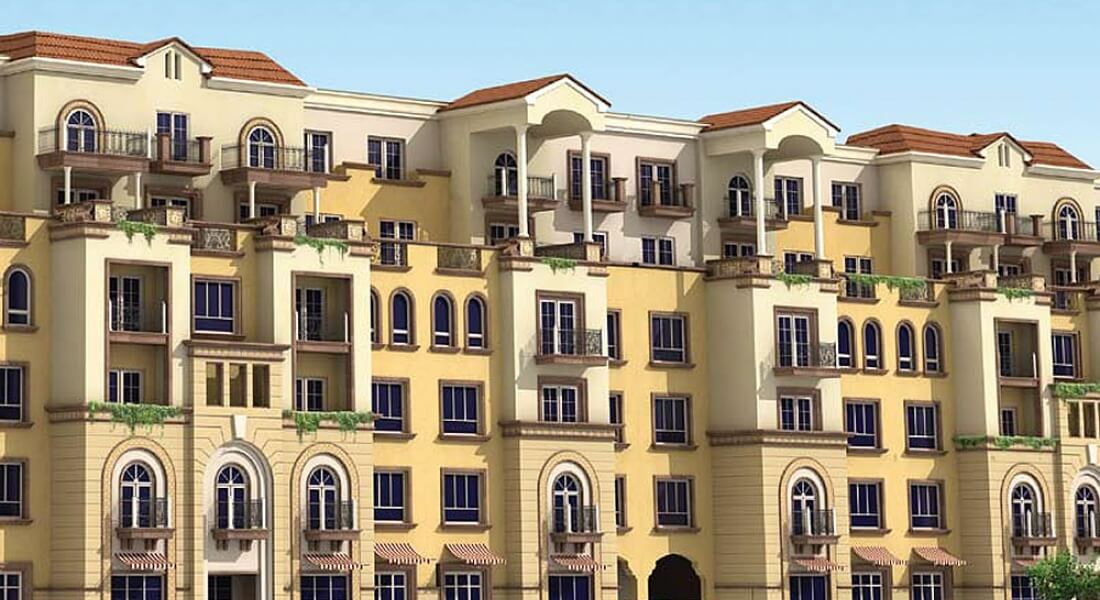 Green Park residential apartments by DAMAC Properties