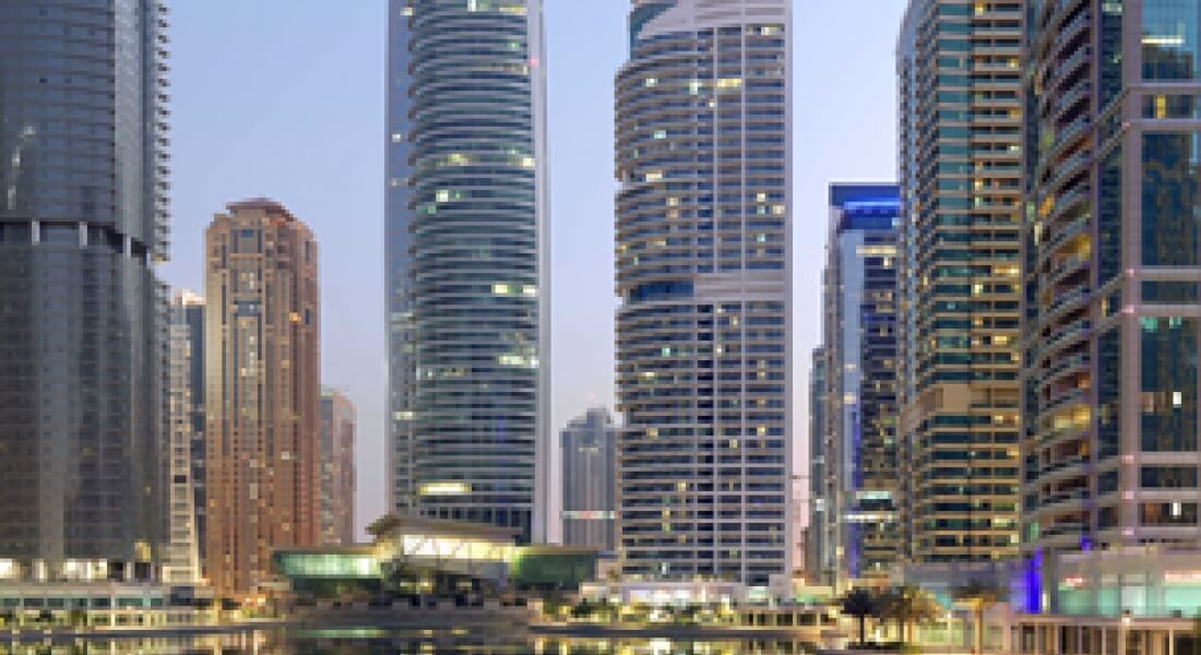 Towering Residential Condominiums and Hotels