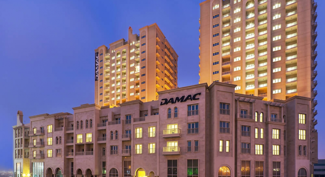 Residential Building at Daybreak