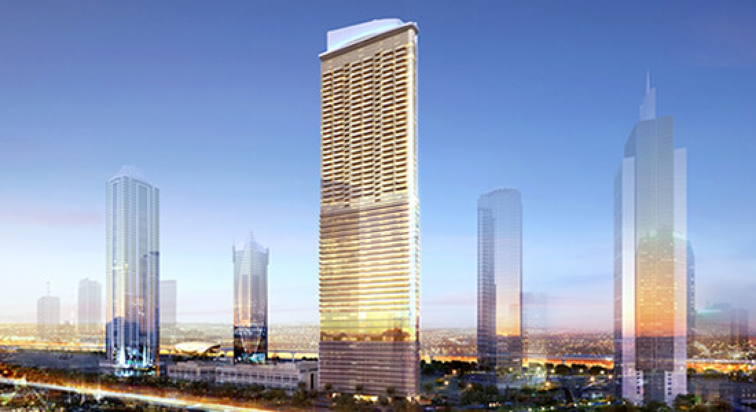 Paramount tower hotel residences dubai damac properties for Luxury hotel project