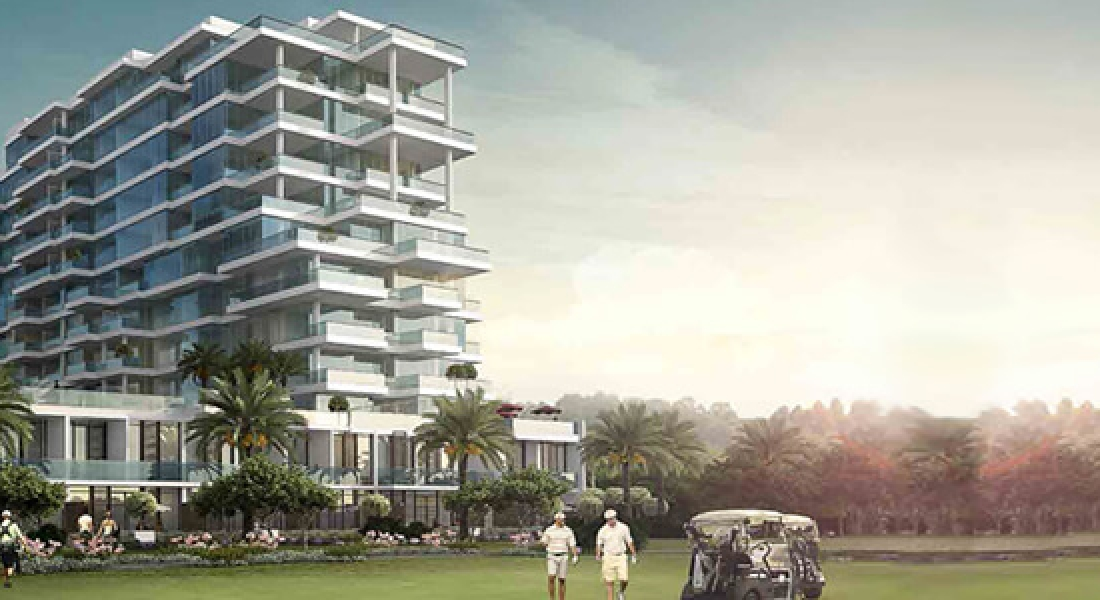 Golf Vista Luxury apartments and townhouses by DAMAC Properties