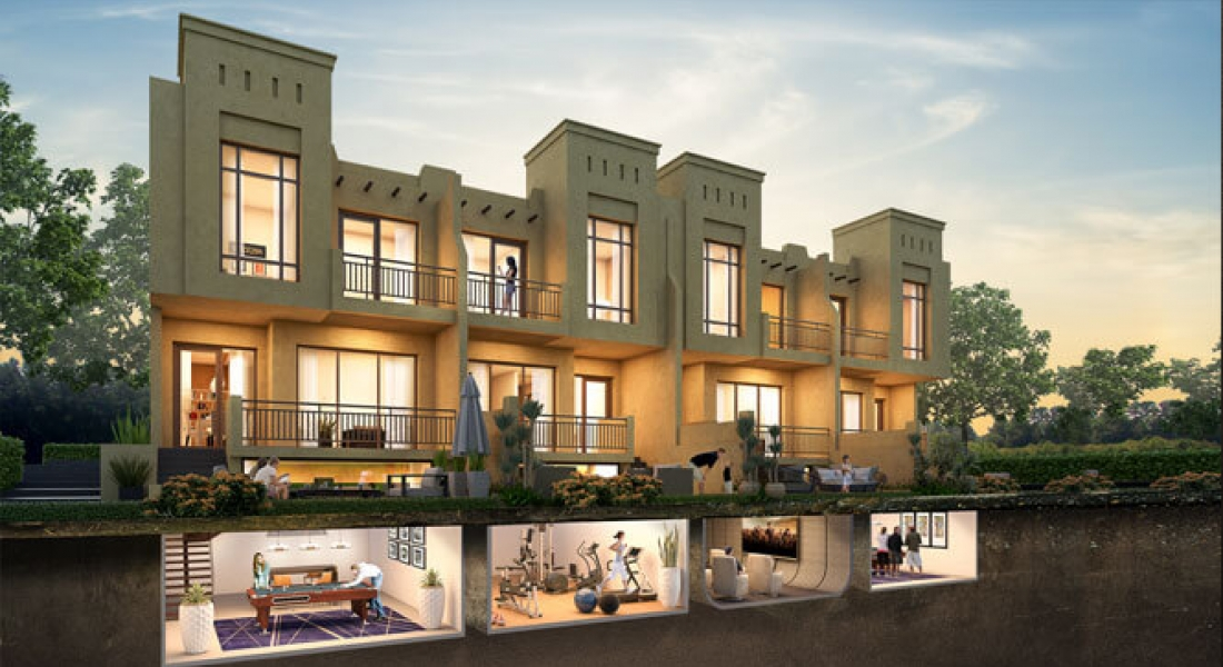 Bait Al Aseel villas at AKOYA Oxygen by DAMAC Properties