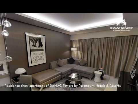 Embedded thumbnail for Video tour of DAMAC Towers by Paramount Hotels & Resorts
