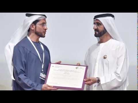 Embedded thumbnail for Receiving an award from Dubai Cares