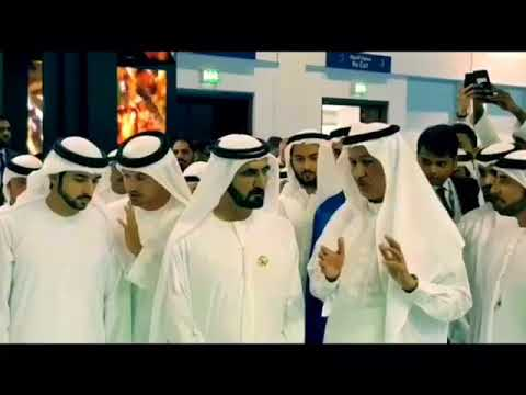 Embedded thumbnail for HH Highness Sheikh Mohammed Bin Rashid visiting our DAMAC stand in Cityscape