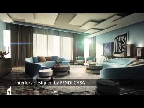 Embedded thumbnail for DAMAC Residenze with interiors by Fendi Casa