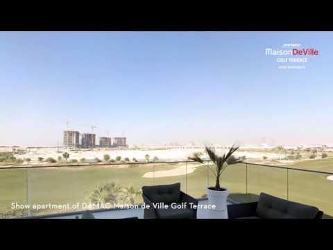 Embedded thumbnail for Video tour of DAMAC Maison de Ville Golf Terrace at AKOYA
